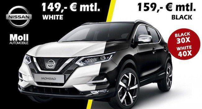 Nissan Qashqai N Way mit 140 PS & Panoramadach für 185€ mtl.   LF: 0.64