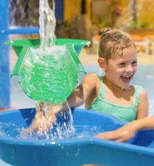 Slagharen: 2 ÜN für 2 Erwachsene + bis 4 Kinder im Zelt + alle Eintritte inkl. Wasserpark ab 188€