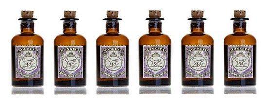 Abgelaufen! 6x den Monkey 47 Schwarzwald Dry Gin Miniatur (0,05 Liter) für 17,05€ (statt 36€)