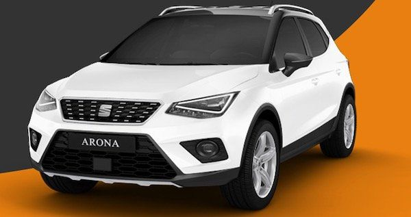 Seat Arona 1.0 TSI mit 95 PS im Leasing für 112,27€ mtl.   LF: 0.66
