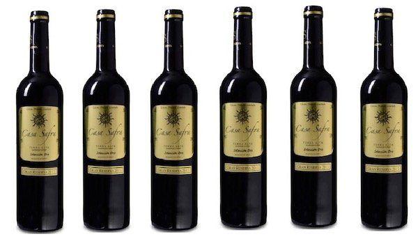 6 Flaschen Casa Safra Gran Reserva Rotwein für 34,65€   mit Gold prämiert!