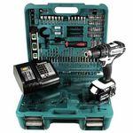 Makita DHP 482 STTK W Schlagbohrschrauber inkl. 5 Ah Akku + 101-tlg. Zubehör für 189€