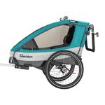 Qeridoo Sportrex 1 Fahrradanhänger (Modell 2019, Einsitzer) für 284,99€(statt 350€)