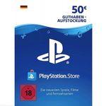 50€ PlayStation Network Guthaben für 38,24€ + 2,20€ in Superpunkten