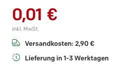 Vorbei! Einkaufskorb für je 0,01€ zzgl. 2,90€ VSK