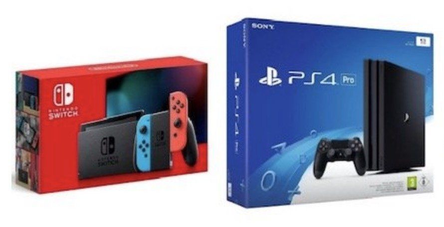 Nintendo Switch (neue Version) für 49€ oder PS4 Pro für 75€ + Vodafone Flat mit 5GB LTE für 14,99€ mtl.