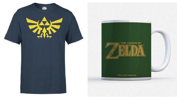 Zelda Triforce T Shirt + Tasse für 11,48€ (statt 23€)