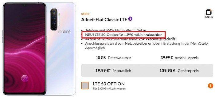 Realme X2 Pro Smartphone mit 128GB + Powerbank für 139,95€ + Vodafone Flat mit 10GB LTE für 19,99€ mtl.