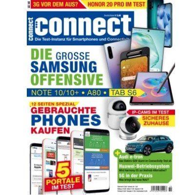 Jahresabo des Technik Magazins connect für 84€   Prämie: 50€ Bestchoice Gutschein