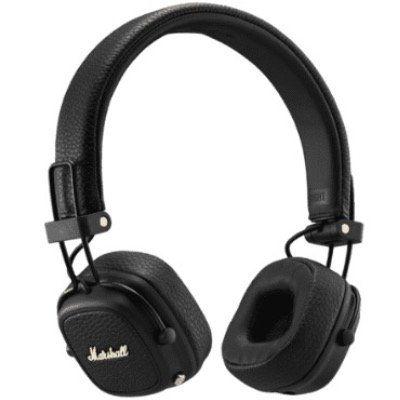 Marshall Major III Bluetooth On Ear Kopfhörer in Schwarz für 68,90€ (statt 88€)