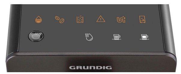 Grundig KVA4830 Kaffeevollautomat mit Touch Display und Kegelmahlwerk in Schwarz für 199€ (statt 284€)