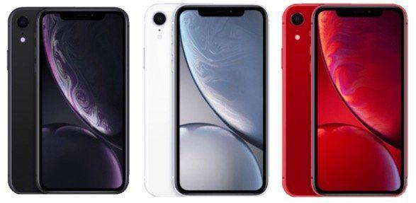 Apple iPhone XR 128GB in Rot, Weiss oder Schwarz für 623€ (statt 679€)   inkl. 1 Jahr Apple TV+