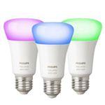 Philips Hue White and Color Ambiance E27 mit Bluetooth im 3er-Set für 99,99€ (statt 146€)