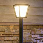 Ausverkauft! Philips Hue White and Color Ambiance Econic LED Garten-Standleuchte für 93,80€ (statt 134€)