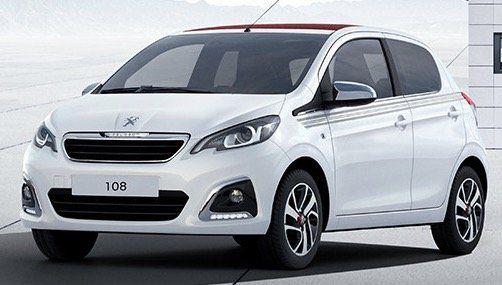 Peugeot 108 Top Collection inkl. Wartung & Verschleiß mit 72 PS im Privatleasing für 107,63€mtl.   LF: 0.62