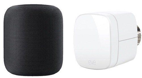 Apple HomePod Smart Speaker + EVE Thermo Smartes Heizkörperthermostat für 309€ (statt 340€)