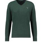 2er Pack GANT Pullover in Grün aus Lammwolle mit V-Neck für 74,62€ (statt 92€)