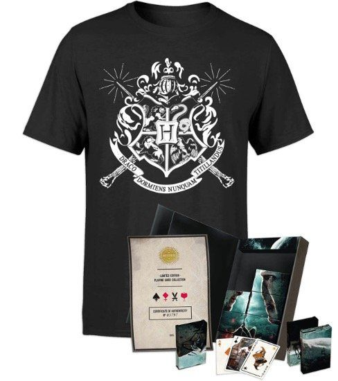 Harry Potter Poker Karten + T Shirt für 24,48€ (statt 50€)