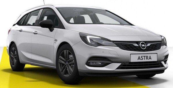 Trade In: Opel Astra K Sports Tourer Sondermodel 2020 inkl. Opel Flat für 225,81€mtl.   LF: 0.79