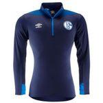Umbro FC Schalke 04 Herren Half-Zip-Shirt 2018/19 in drei Farben für 22,22€ (statt 29€)