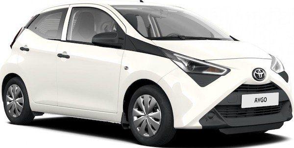 Toyota Aygo X 1.0 mit 72 PS im Privatleasing für 96,64€ mtl.   LF: 0.67