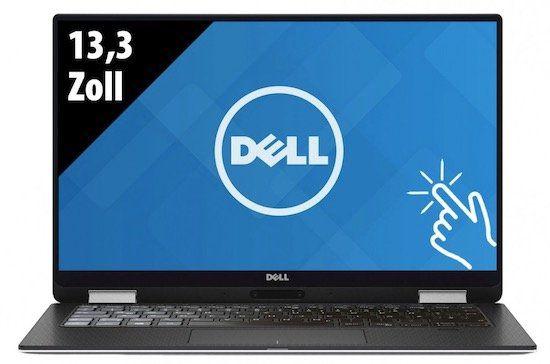 Dell XPS 13 (9365)   13,3 Zoll QHD+ Convertible mit 500GB SSD für 899€ (statt 1.249€)