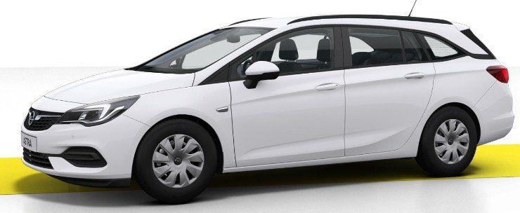 Gewerbe: Opel Astra Sports Tourer 1.2 mit 110 PS für 108,63€ mtl. brutto   LF: 0.45