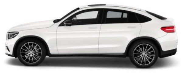 Mercedes GLC Coupé 350d 4matic AMG Line 8 fach bereift für 623€ mtl. – LF 0,76