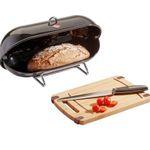 Wesco Breadboy Brotbox mit Brotmesser und Schneidebrett für 33,94€ (statt 54€)