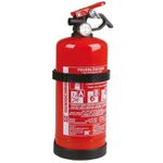 Unitec Feuerlöscher für KFZ (1kg, ABC-Pulver, mit Druckhebelventil, nachfüllbar) für 11,99€ (statt 26€)