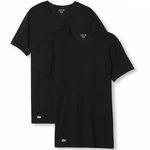 2er Pack Lacoste oder Hugo Boss T-Shirts in Schwarz für 20,96€ (statt 28€)