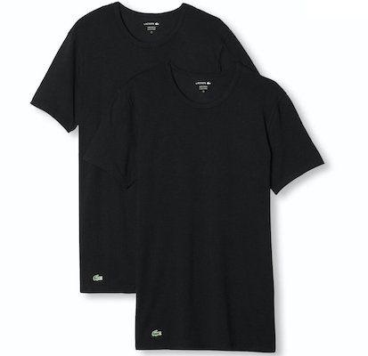 2er Pack Lacoste oder Hugo Boss T Shirts in Schwarz für 20,96€ (statt 28€)