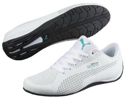 Puma Mercedes AMG Petronas Drift Cat Ultra Sneaker in Weiß für 31,11€ (statt 48€)