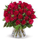 33 rote Rosen mit 50cm Länge für nur 24,98€ inkl. Versand