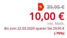 Wellpur Nackenstützkissen (47x30cm) ab nur 10€ (statt 30€)