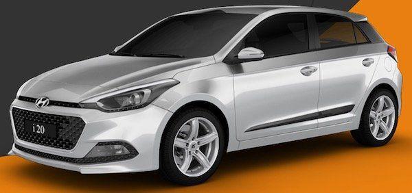 Hyundai i20 in Trend Metallic mit 84 PS für 115,63€ mtl.   LF: 0.67
