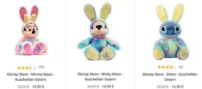 Disney Oster Kuscheltiere für 18,80€ (statt 30€)