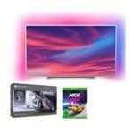 Philips 75 Zoll UltraHD mit Ambilight + Xbox One X Star Wars + NfS Heat für 1499€ (statt 1.816€)
