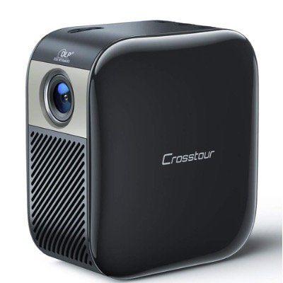 Crosstour Mini Beamer s100 bis zu FullHD 1080P und 3000mAh Akku für 129,99€ (statt 200€)