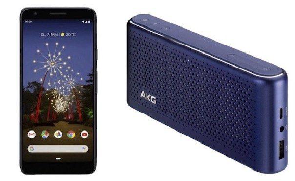 🔥🔥 Kracher! Google Pixel 3a 64GB + AKG S30 + 2x Google Home Mini für 289€ (statt 379€)