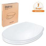 Dalmo Toiletten-Sitz DBTS02B mit Absenkautomatik aus Duroplast und Edelstahl für 23,04€ (statt 36€)
