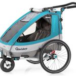 Qeridoo Sportrex 2 (2020) Kinderfahrradanhänger für 409,99€ (statt 499€)