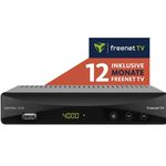 Imperial T2 IR DVB-T2 HD Receiver + 12 Monate freenet TV für 49€(statt 92€)