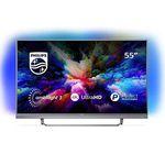 Philips 55PUS7503 – 55 Zoll UHD Android Fernseher mit 3-seitigem Ambilight für 578,90€ (statt 660€)