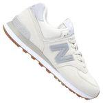 New Balance ML574 D Sneaker in Weiß für 56,27€ (statt 70€)