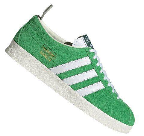 adidas Originals Gazelle Vintage Wildleder Sneaker in Grün für 83,96€ (statt 120€)
