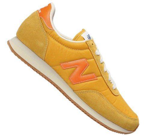 New Balance UL720 D Leder Sneaker in Gelb für 59,46€ (statt 74€)