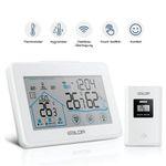 Fylina Funk-Wetterstation mit Touchscreen und Außensensor für 14,25€ (statt 25€)