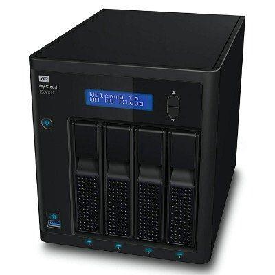 WD My Cloud EX4100 Case NAS 4 Bay Zentraler Netzwerkspeicher (2x 4TB WD Red) für 396,56€ (statt 630€)