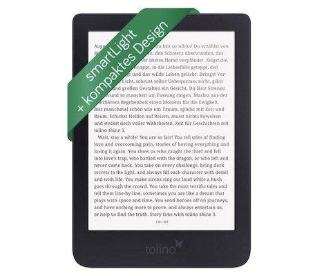 tolino shine 3 eBook Reader für 89€ (statt 99€)